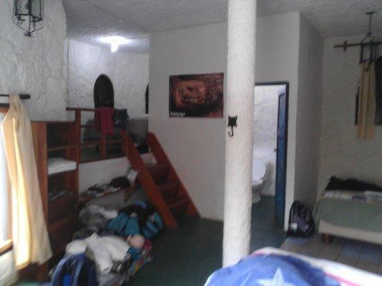 El Castillo Galapagos : Room from entry