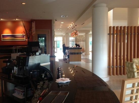 Hilton Garden Inn Dallas / Richardson: The Lobby Of Hgi Richardson/plano.