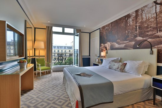Fraser Suites Le Claridge Champs-Elysees : Master bedroom - One Bedroom Deluxe Suite