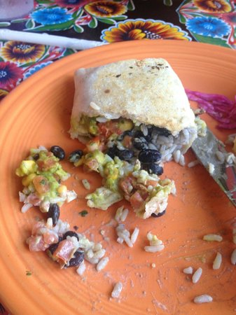 Lucharito's: Chicken Burrito