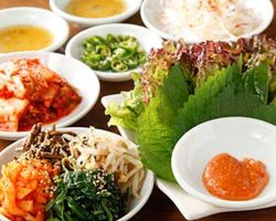 Korean Cuisine Tondeji Foto