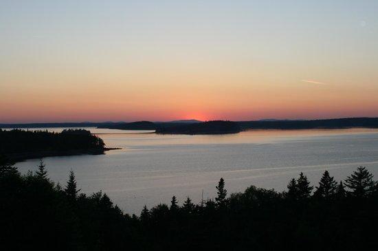 Bluff House Inn : The sunset