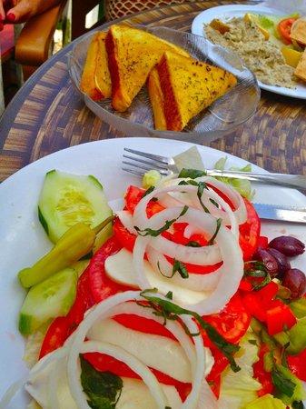 Gilbert's Resort: my salad