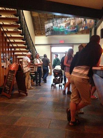 Café de l'Anse du Centre Culturel Le Griffon : entrée