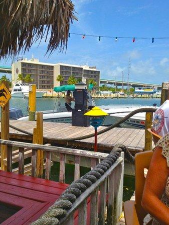 Gilbert's Resort: the docks