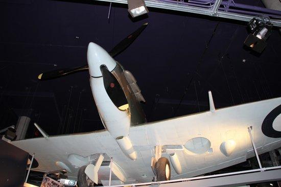 Canadian War Museum: Supermarine Spitire fighter aircraft