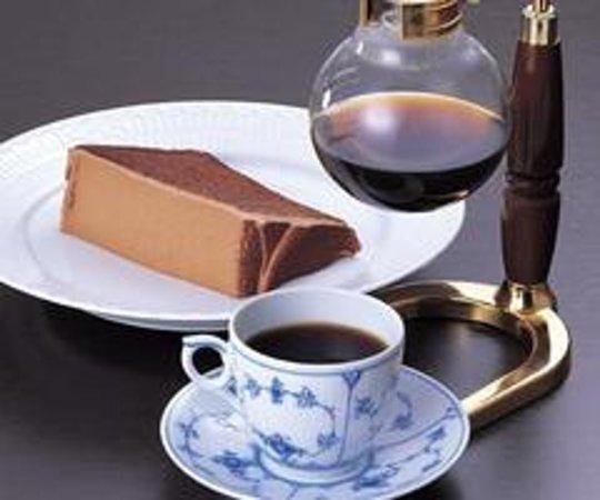 Tsubakiya Coffee ten Ikebukuro Saryo Bild