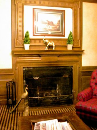 Exeter Inn : Fireplace in Public Rooms