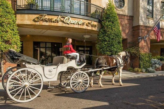 French Quarter Inn: Our Carriage