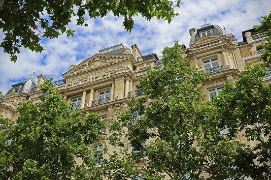 Fraser Suites Le Claridge Champs-Elysees : Facade