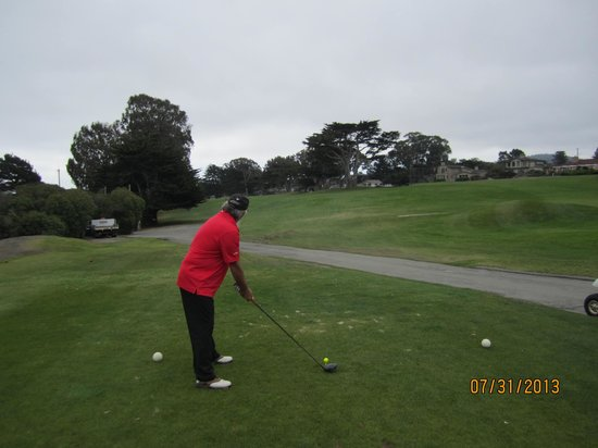 Pacific Grove Municipal Golf Course : My hubby