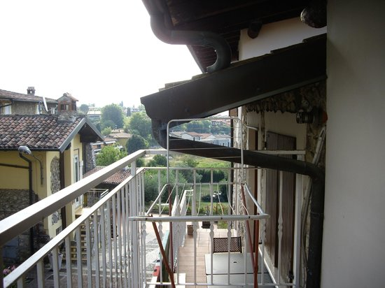 Il Ghetto Farm Holiday : vue du balcon