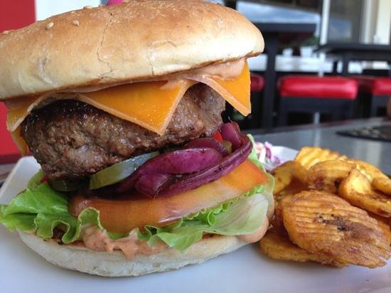 Fuego Bar & Grill: The Fuego Burger