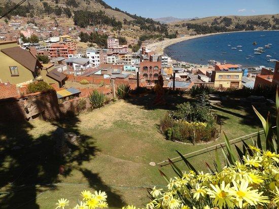 Hotel La Cupula : vista do jardim