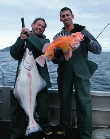 Alaska's Kodiak Island Resort: Yelloweye Rockfish and Halibut
