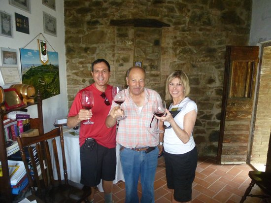 Walk About Tuscany Tours: A Brunello Private Vineyard Tour