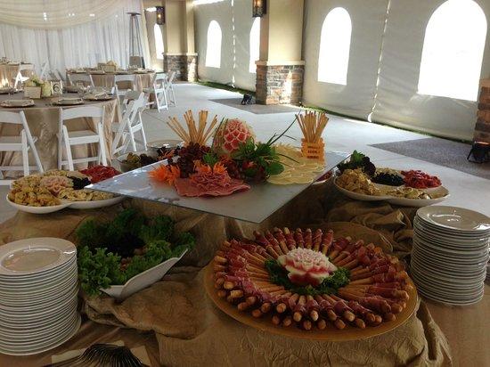 Mastronardi Estate Winery: Antipasta presentation