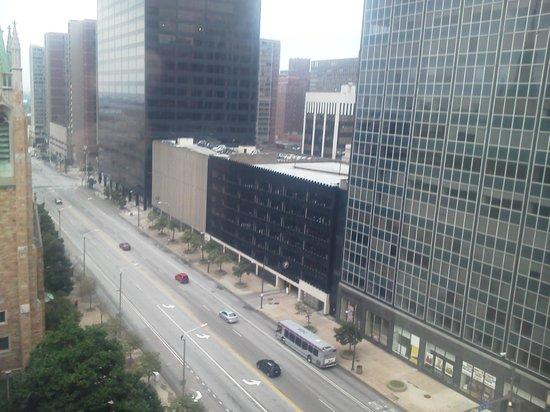 Hampton Inn Cleveland Downtown : Great views!