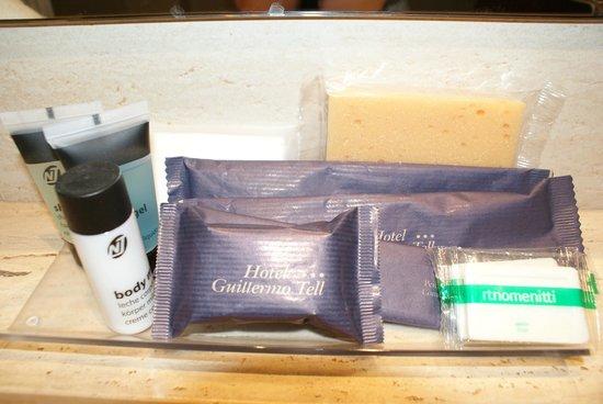 โรงแรมกุยเลอโมเทล: Produtos de Higiene