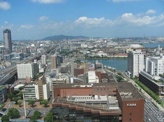 RIHGA Royal Hotel Kokura: View from 21st floor