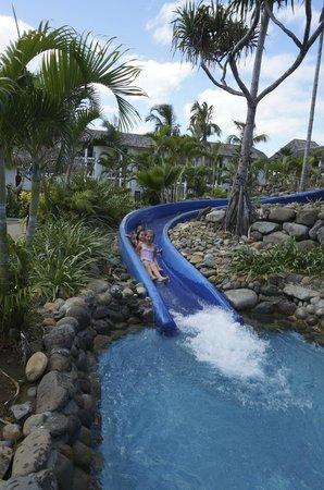 Sofitel Fiji Resort & Spa: exercise and entertainment rolled into one...