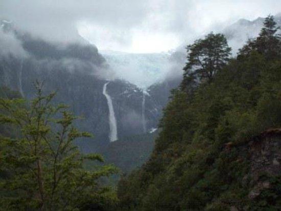 Puyuhuapi, Chile: Ventisquero Colgante.