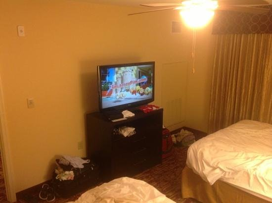 Homewood Suites by Hilton Carle Place - Garden City: tv in bedroom