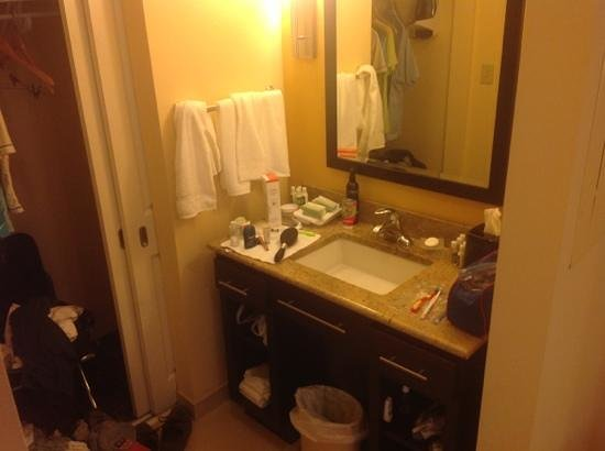 Homewood Suites by Hilton Carle Place - Garden City: sink and closet