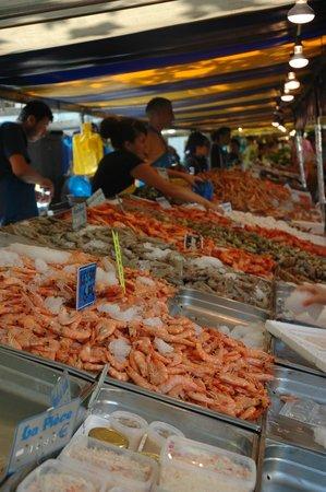 Marché Richard Lenoir : Frutos do mar