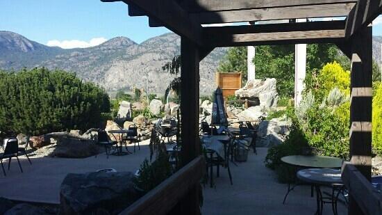 Ridge Brewing Company Pub & Restaurant: Great patio!