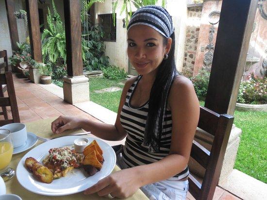 La Casona de Antigua: Desayunando riquisimo!