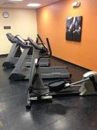 Country Inn & Suites By Carlson, Jacksonville West: Fitness Room