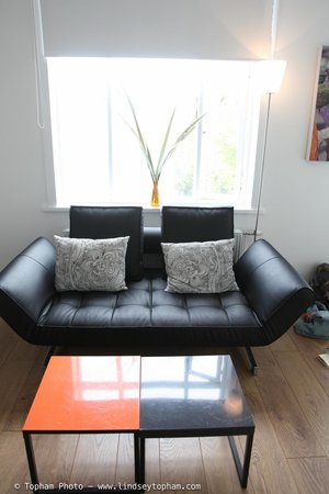Rey Apartments Hotel: sitting area