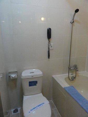 Huong Sen Hotel: バスルーム