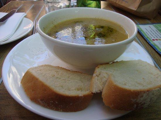 Amarone Glasgow: Soup dish