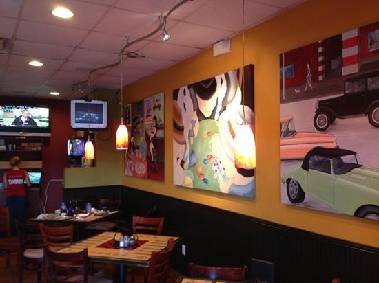 Joseph's Italian Restaurant : dining room