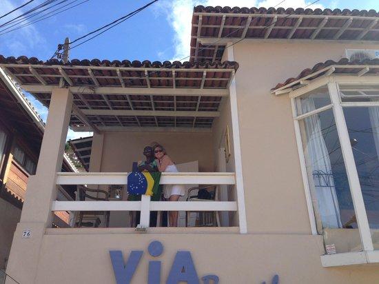 Pousada Via Brasil: Vista fachada