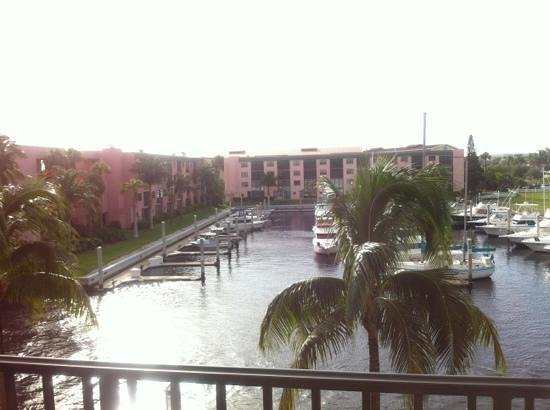 Naples Bay Resort: great view from standard room
