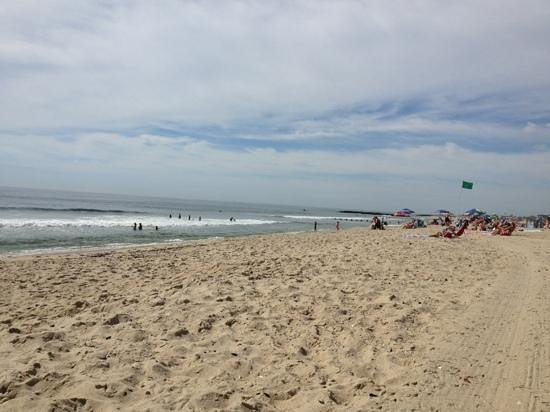Belmar Beach and Boardwalk: beach picture