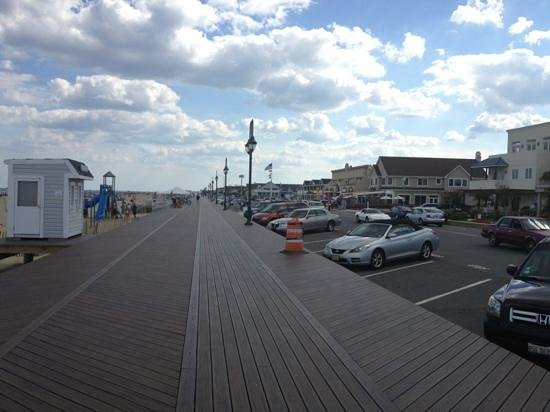 Belmar Beach and Boardwalk: new boardwalk