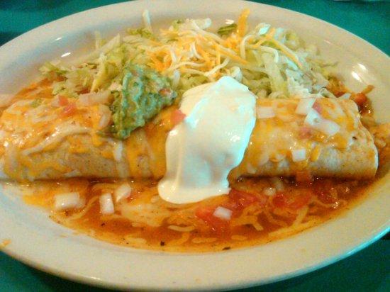 Acapulco Mexican Restaurant: Burrito