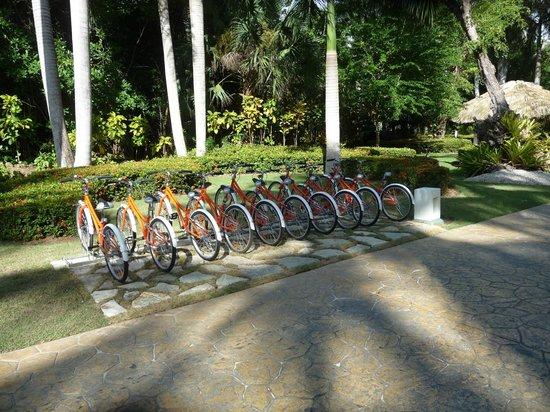 Paradisus Punta Cana Resort: new bikes