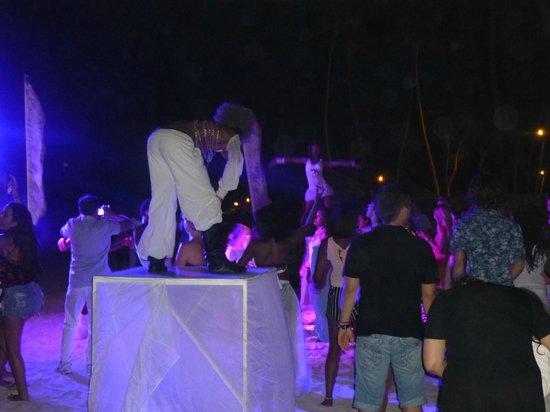 Paradisus Punta Cana Resort: beach party