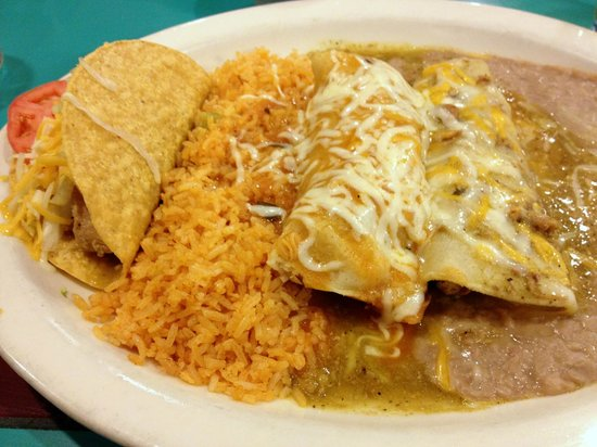 Acapulco Mexican Restaurant: Combo Platter