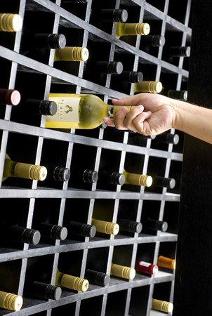 The Kitchen Restaurant: Wine room