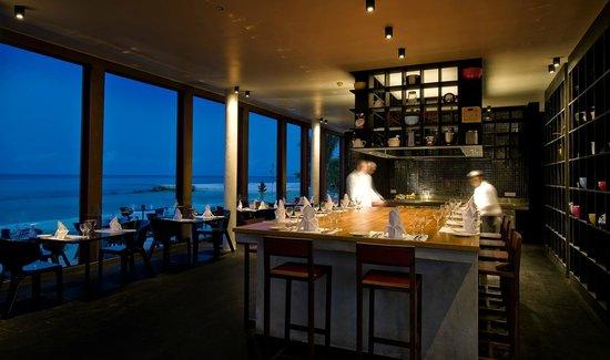The Kitchen Restaurant: Open kitchen