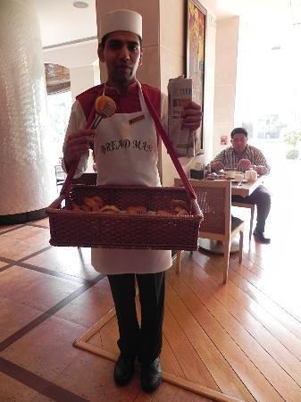 Shangri-La's Eros Hotel: Lucky The Bread Man