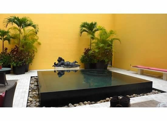 Villa Azalea - Luxury B&B : Zen pool indoors with open ceiling