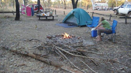 Douglas Hot Springs camping area