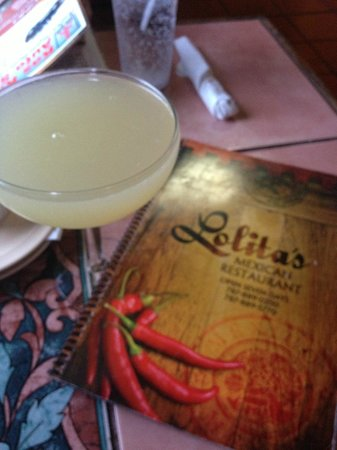 Lolita's: Margarita and menu